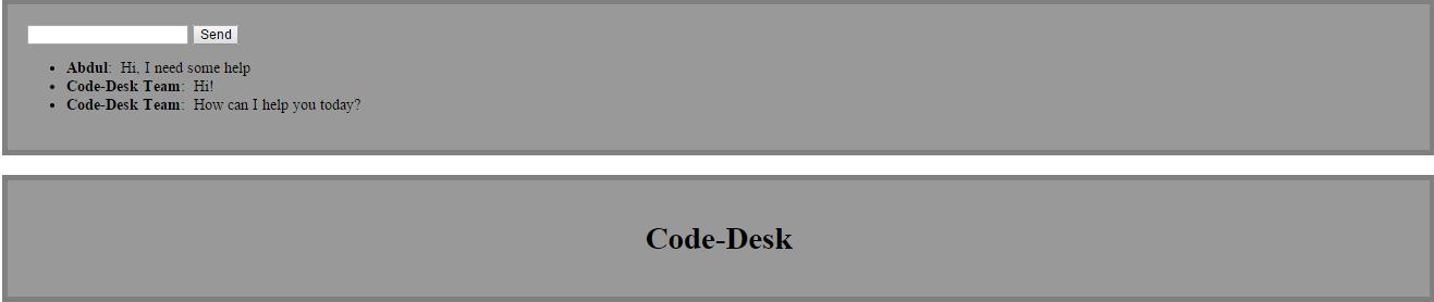 SignalR | Code Desk